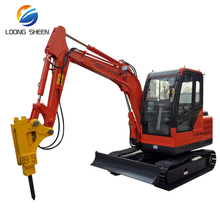 excavator 3.5t rock breaker mini excavator