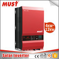 ISO factory must brand pure Sine Wave 1kw-12kw solar Inverter with Solar Charger controller supplier