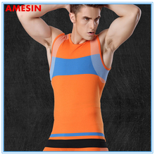 AMESIN Custom Fashion Reflective Running Vest Fitness Wear Basketball Uniform