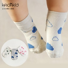 YESUN SU1039 New arrival OEM 100% Organic Cotton Happy Cute Socks Baby