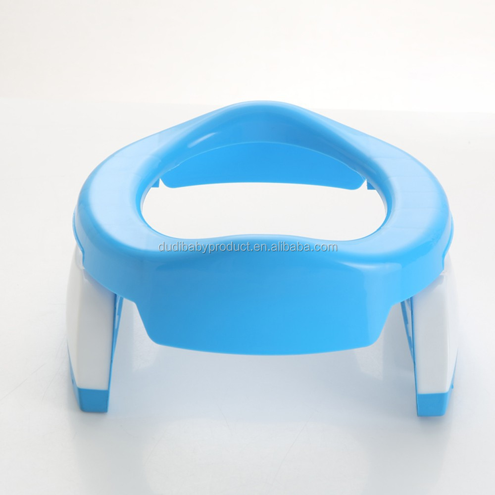 hot selling!2016 2:1 plastic travel portable potty/ toilet/baby items