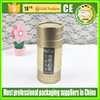 packaging for eliquid bottle, colorful paper tube, golden shiny paper tube