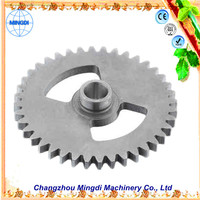 Changzhou Machinery tractor trucks used Crown Pinion Gears Ring / transmission parts large diameter spur gear