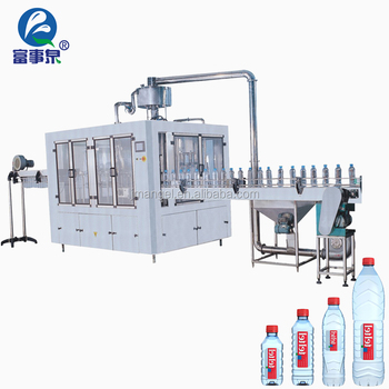 Advanced technology automatic mineral drinking natural spring water filling machine