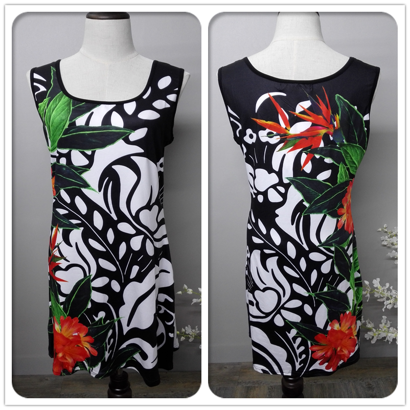 Original Design Printted Dress Clothing Q019