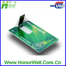OEM Slim ABS Business Credit Card Usb for Business Promotion