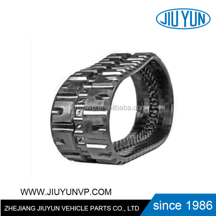 mini loader spare parts rubber track