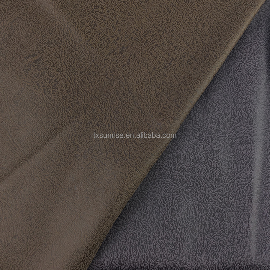 Home Textile,Sofa,Upholstery Use and 100%Polyester Material sofa faux leather fabric
