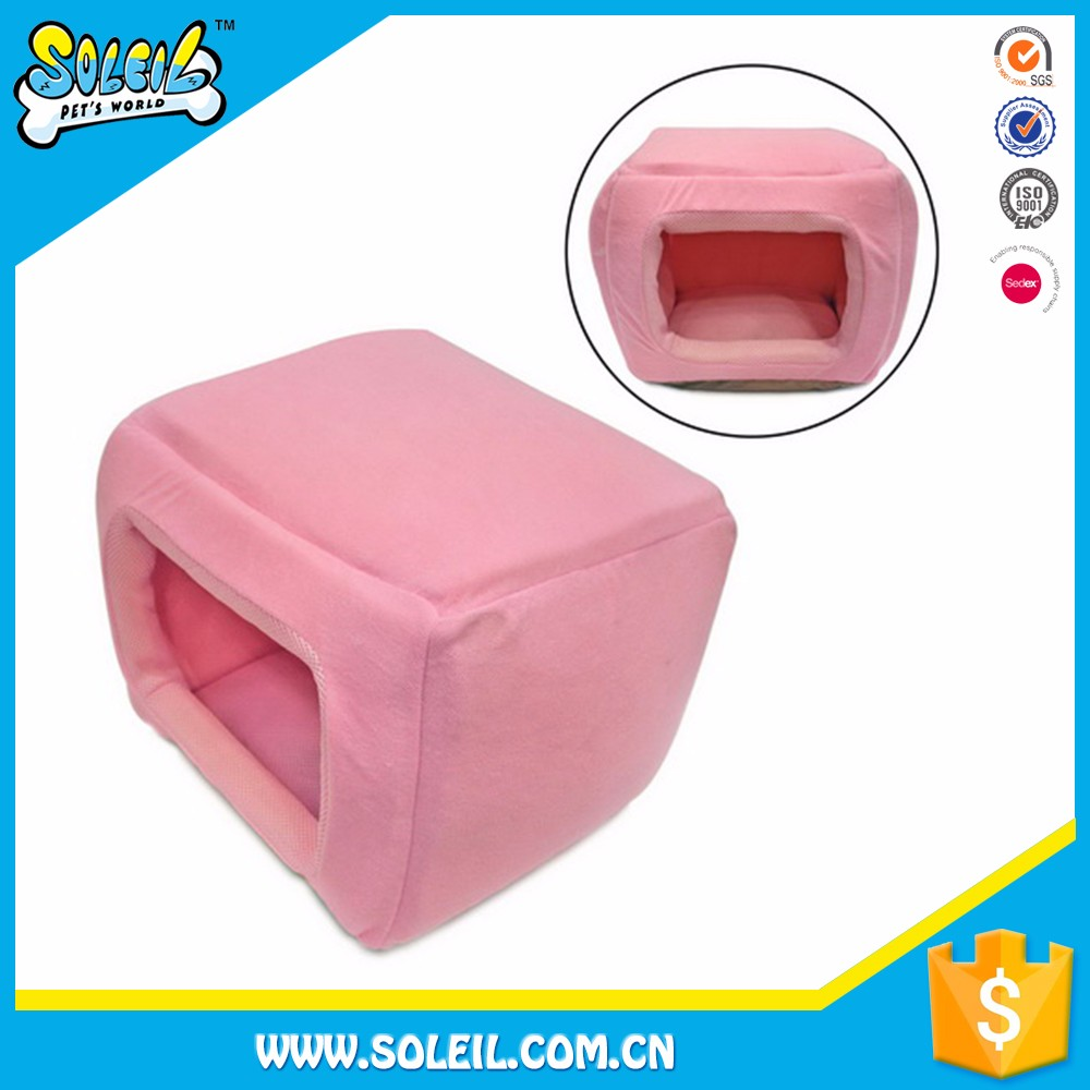 Popular Design Portable Polyester Pink Dog House