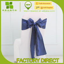 wedding Taffeta chair sash