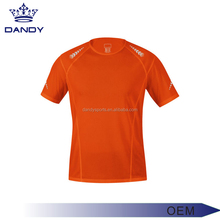 High quality sport wear compression men T shirt/ sports wear/ Running Fitness