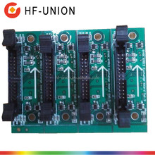 Original and new BYHX Konica 512 exchange board for Human K-JET 3200 inkjet solvent printer with Konica 512 42PL