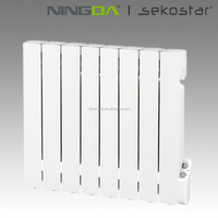 1500W Electrical aluminum oil filled radiator with mechanical control box