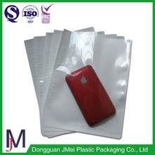 China supplier long lift-span 3 side heat sealing poly mailer lp envelop bag for apple mobile phone packaging