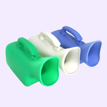 Plastic urinal 1000ml female with sturdy handle