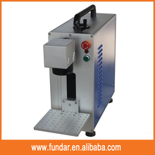 protection cover 50w mini laser marking machine for metal/plastic/stainless steel/jewelry