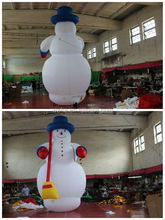 large christmas decoration inflatable snowman