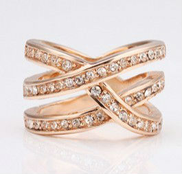 Latest Top Design Rose Gold Rings For Lady and Women
