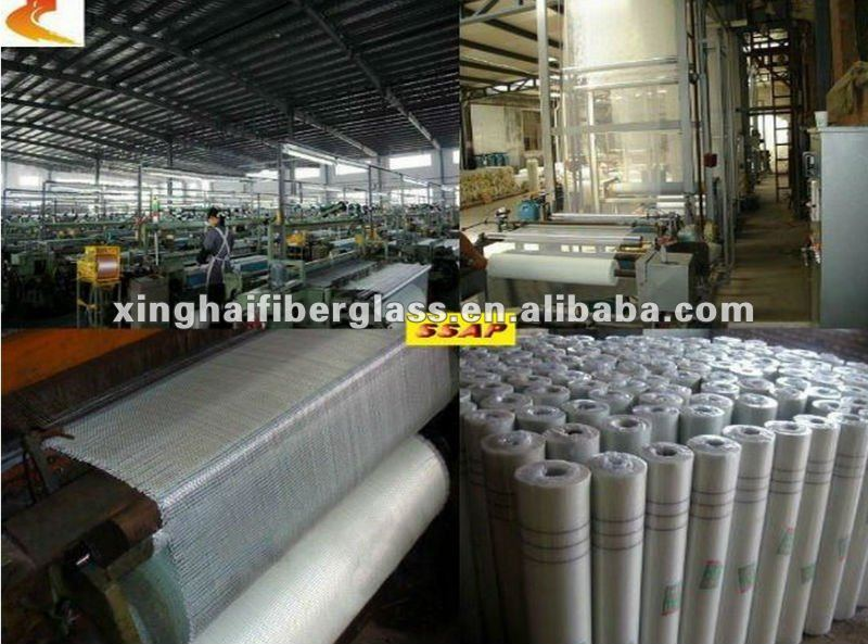 fiberglass coated with pvc
