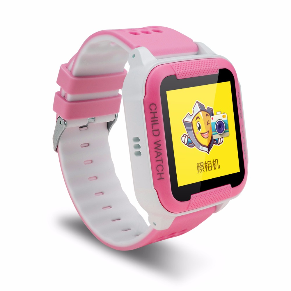 PS Tracker Smart Watch for Kids with Sim Card;Touch Screen,Waterproof, Smartwatch Phone Anti-lost Finder SOS Gps Children Wrist