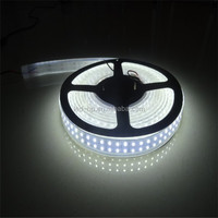 Factory price SMD3528 240leds/m continuous length flexible led light strip white color