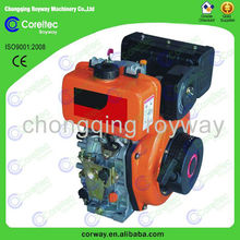 small diesel engine for 2.5HP-17HP air cooling 4 stroke single cylinder portable small diesel engines/air cooled diesel engine