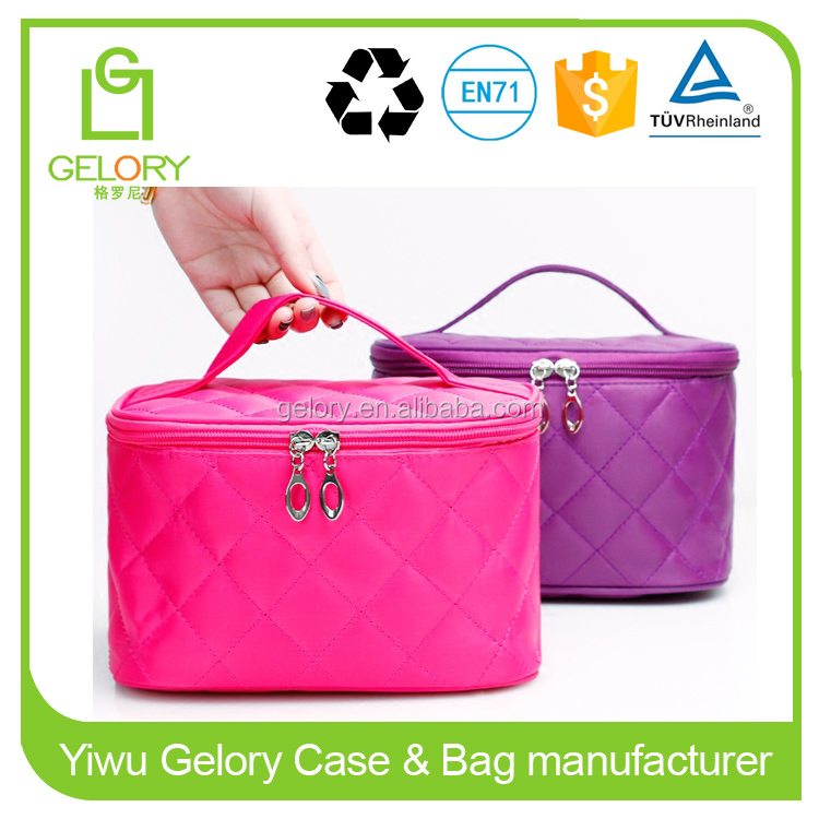 Bag Type and Microfiber Material Large cosmetic bags with compartments