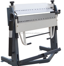Manual Iron Plate Bending Machine/ Metal Folding Machine Exporting To Malaysia