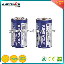 alkaline battery AM-1 1.5v LR20 note battery D