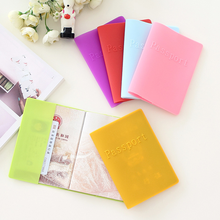 Custom Wholesale Cheap Family Silicone Travel Wallet Personalized Passport Cover Holder