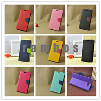 Colorful PU Leather Flip Wallet Case Cover Stand for Nokia Lumia 520 630 920 1020 925 930