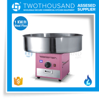 Sales for Table Top Gas Cheap Cotton Candy Floss Machine Made in China