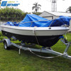 Gather factory China hot sale 5m fiberglass boat, small fiberglass boat, cheap fiberglass boat for sale