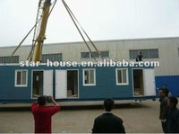 Prefab modular container as shop /workshop/ office /dormitory/ school(certified by CE,B.V.,CSA &AS)/ modular container shop