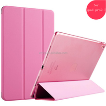 best selling leather smart cover cases for ipad pro 9.7 10 inch tablet hard case