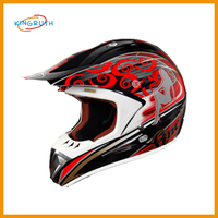 High quality ABS red helmet motorcycle low price for custom safety helmet
