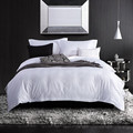 China supplier 100% cotton hotel bedding set