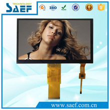 7 inch LCD 800x480 TFT touch display with capacitive multi-touch screen Industrial rgb interface