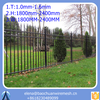 cheap wrought iron fence panels for sale / Iron Square Tube Fence Panels