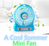 Wholesale best gift rechargeable mini electric hand fan portable usb small 12v dc fan