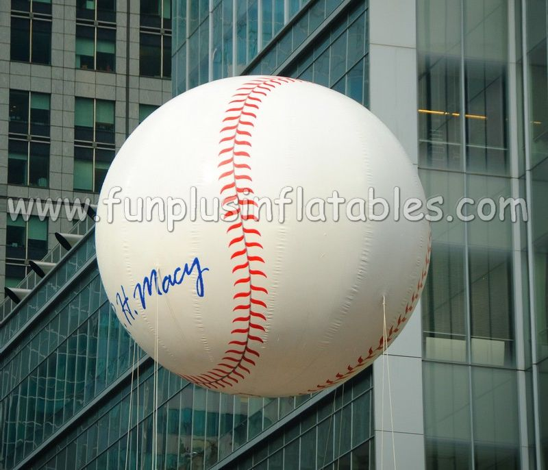 inflatable baseball helium sky balloon for advertising or event P3026