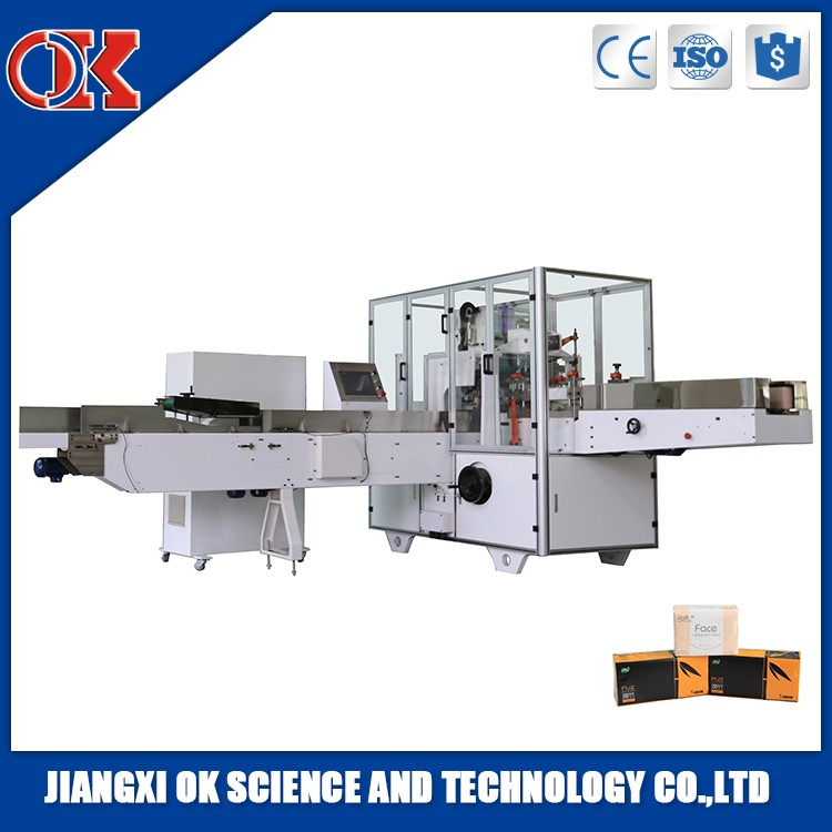Automatic Facial Tissue Paper Towels Folding Machinery Used