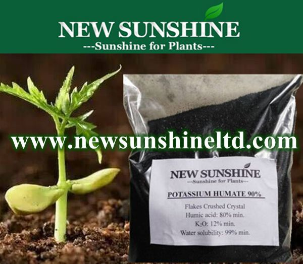 Potassium Humate, Humic Acids and Fulvic Acids Organic Fertilizer