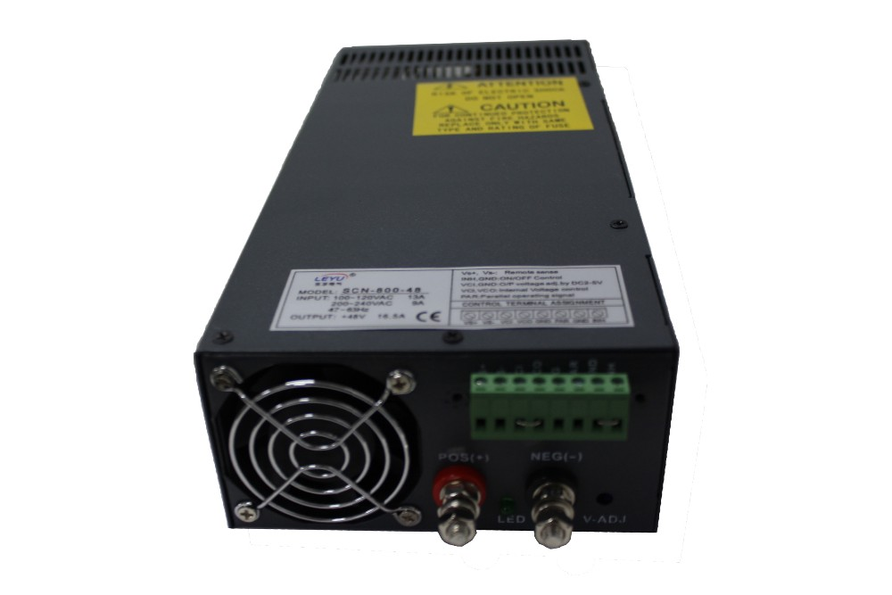 High power Parallel function AC DC 800W 48V single output led 3d printer switching power supply smps