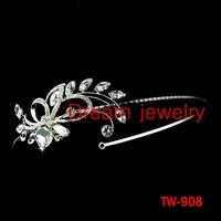 pageant crown tiaras side flower hair jewelry accessories the bride tiara crystal wedding