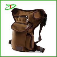 High quality durable motorcycle side bag, functional motorcycle bag, canvas waist bag
