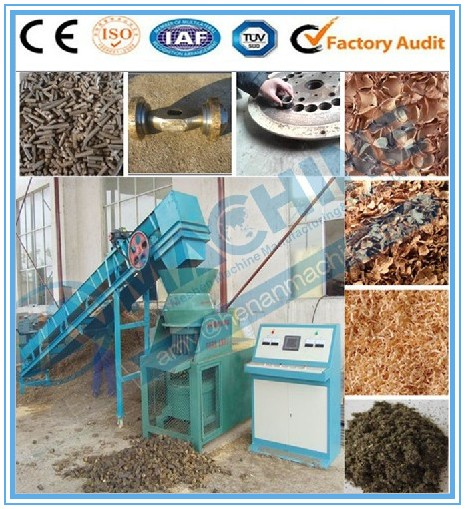 Energy saving biomass wood sawdust charcoal extruder machine or charcoal briquette machine