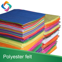 China supply 100% polyester handmade DIY felt colorful fabric