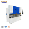 WC67Y 40T/1600 small manufacturing machines iron angle bar manual used sheet metal steel bending machine for sale