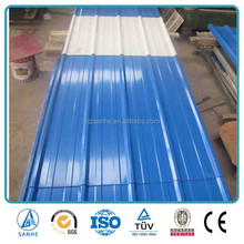 Low-price Corrugated Color Coated Prepainted Steel Plate Roof Sheet